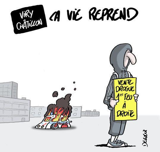 À Viry-Châtillon, comment a-t-on pu en arriver là