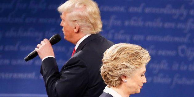 Le deuxième débat entre Hillary Clinton et Donald