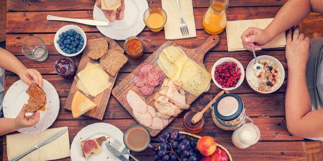 Déjeuner traditionnel en