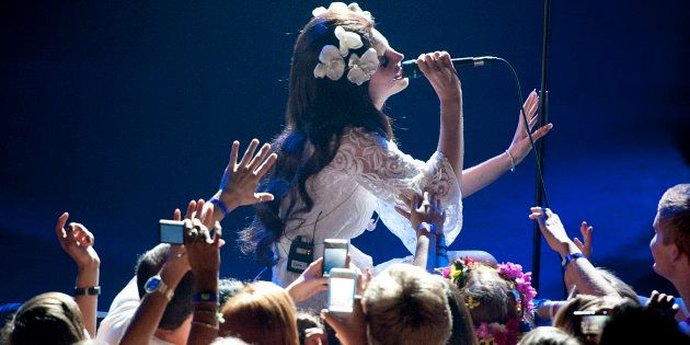 Lana Del Rey au festival de Jazz de Montreux le 4 juillet