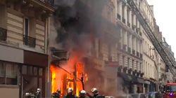 Les images de l'impressionnant incendie rue Lamartine à