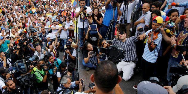 Wuilly Arteaga, le violoniste opposant emblématique au Venezuela