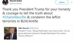 Un ancien leader du Ku Klux Klan se réjouit de la volte-face de