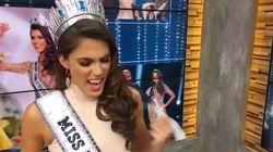 Le coup de gueule de Miss Univers à la télé