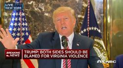 Donald Trump a osé cette comparaison pour défendre les extrémistes de