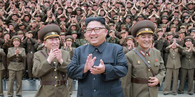 Donald Trump tente de clore le dossier nord-coréen (avec un tweet bien sûr) (Photo d'illustration diffusée...