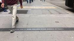 Le maire de New York décide de retirer une plaque commémorative du maréchal