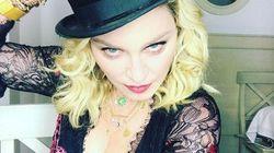 Madonna est arrivée à sa fête d'anniversaire sur un cheval
