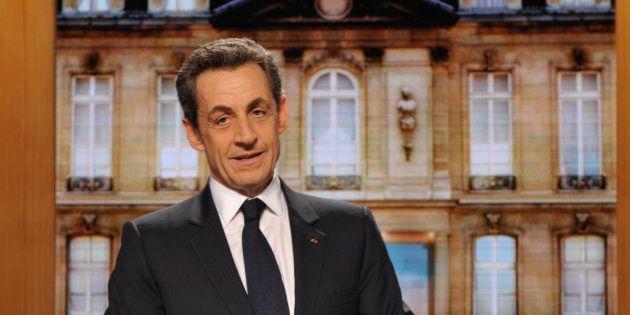 Nicolas Sarkozy lors de