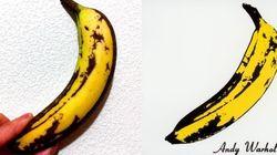 Un Japonais reproduit à l'identique la banane d'Andy
