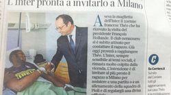 Le joli geste de l'Inter de Milan pour