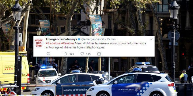 L'administration catalane a un conseil pour libérer les lignes téléphoniques après l'attaque des