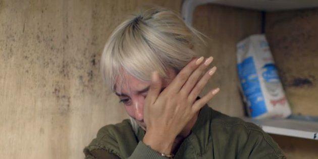 La chanteuse Lily Allen n'a pu retenir son émotion face aux enfants réfugiés dans la jungle de