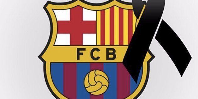 Attentat de Barcelone: les joueurs du Barça rendent hommage à leur
