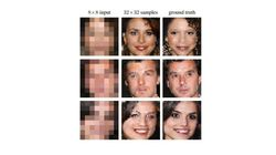 L'IA de Google parvient à recréer un visage à partir d'un tas de pixels, comme dans les