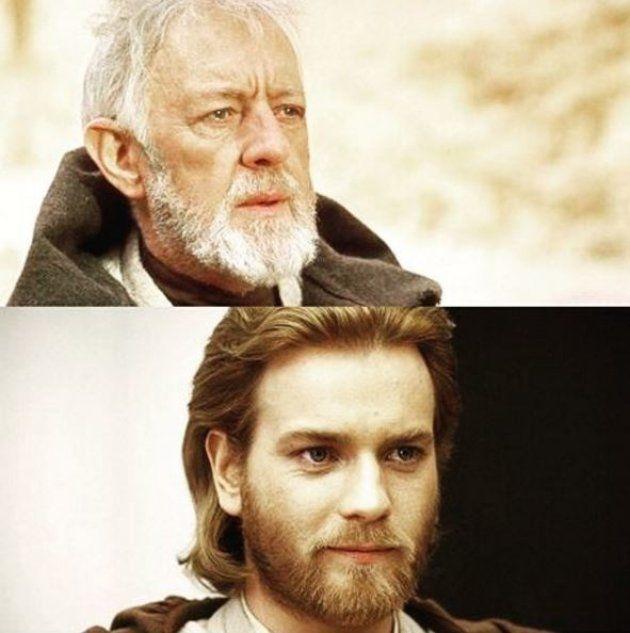 Alec Guinness et Ewan McGregor ont tous les deux incarné Obi-Wan