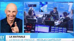 Nicolas Canteloup s'excuse à l'antenne: