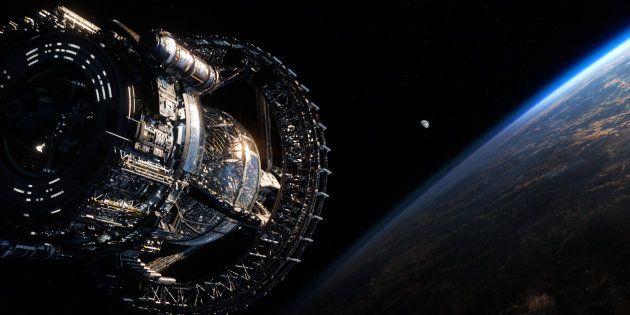 Le vaisseau école de la Stratégie Ender (photo