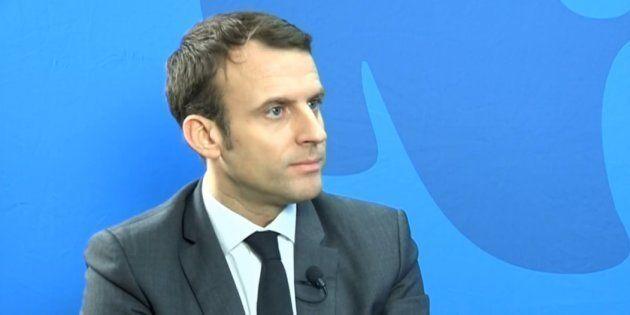 Emmanuel Macron était l'invité de l'ONG environnementale WWF pour dévoiler son projet pour