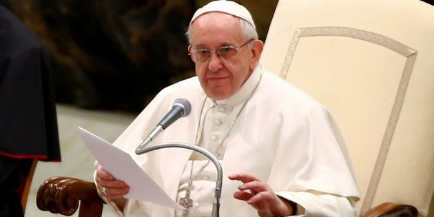 Le pape François au Vatican, le 8 février.