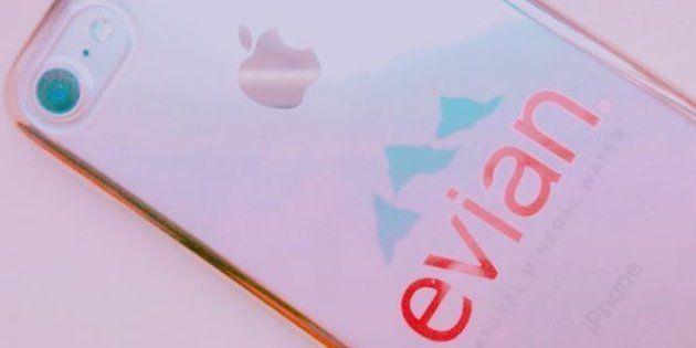 L'iPhone Evian fait un carton au