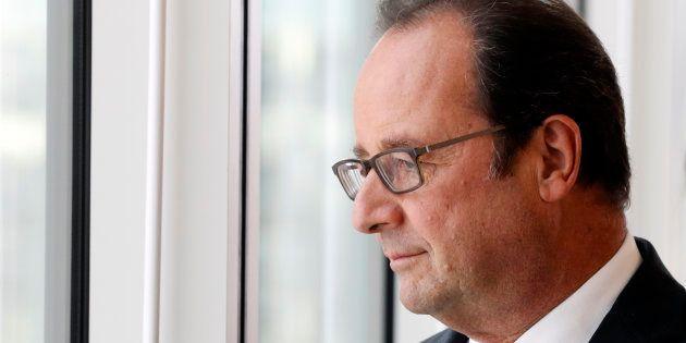 Le Président François Hollande à l'Université de Jussieu, Paris, 29 Septembre