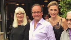 Julie Gayet et François Hollande ont dîné en très bonne compagnie dans le sud de la