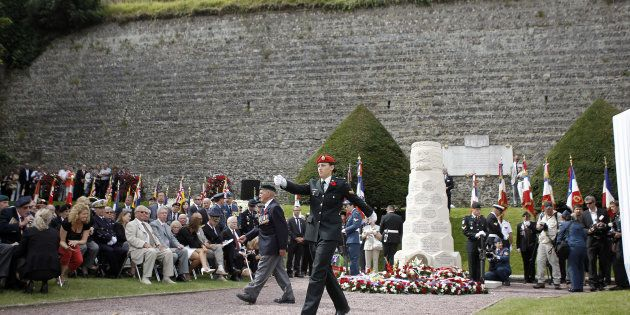 Commémoration du débarquement de Dieppe en