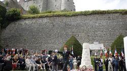 Commémorations à Dieppe de l'opération Jubilee, le débarquement raté de la Seconde Guerre