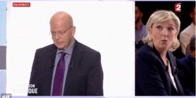 Patrick Buisson et Marine Le Pen ont débattu sur