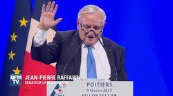 Pour défendre François Fillon, Jean-Pierre Raffarin fait siffler les