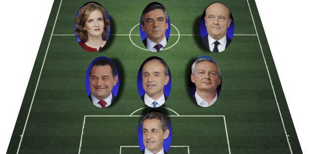 On refait le match du débat de la primaire à droite sur TF1: les notes des