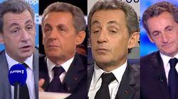 Tiens, cette fois Sarkozy n'a pas repris les journalistes sur sa mise en