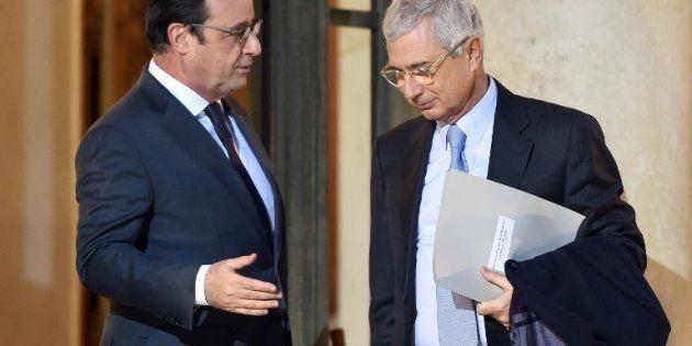 Francois Hollande et Claude
