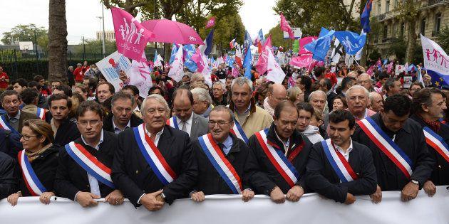 En dépit de la présence nombreuse d'élus dans ses rangs, la Manif pour tous n'est jamais devenu un parti