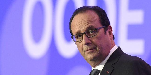 François Hollande en 2015. (Alain Jocard/Pool Photo via