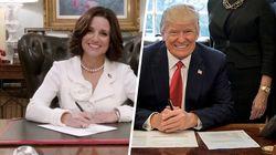 7 moments ahurissants de la présidence Trump que la série