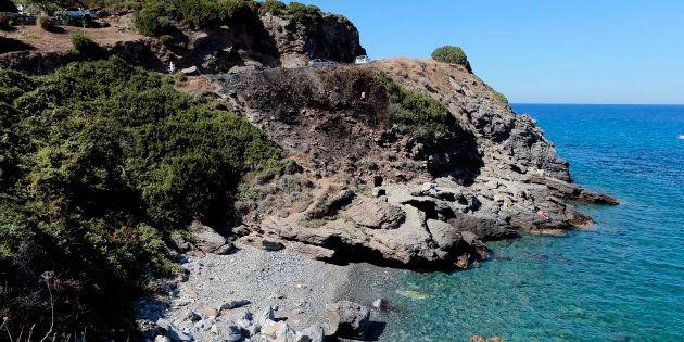 Photo de la crique à Sisco, en Corse, où a eu lieu la rixe en août 2016 ayant eu un retentissement