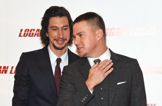 Adam Driver et Channing Tatum jouent les amoureux sur le tapis