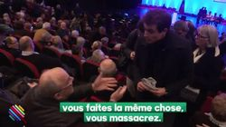 Au meeting de Fillon, un de ses partisans compare les journalistes aux nazis à