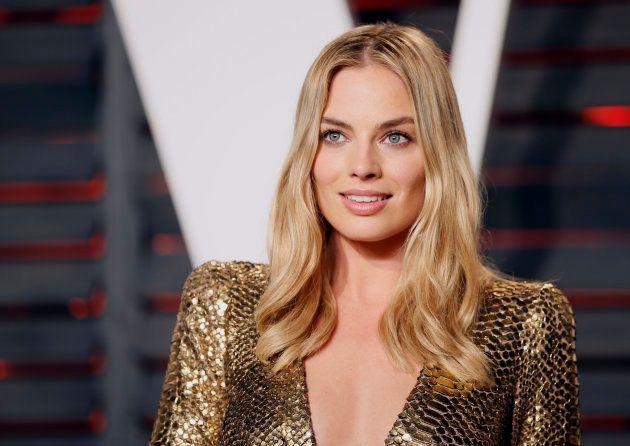Margot Robbie à la soirée Vanity Fair des Oscars à Beverly Hills en