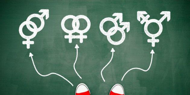 Les symboles de différents genres.