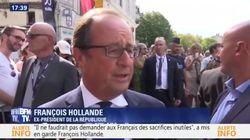 La première mise en garde de François Hollande à Emmanuel Macron depuis son