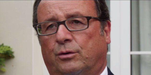 François Hollande confirme qu'il n'abandonne pas la vie