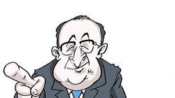 BLOG - Le slogan qui signe le retour de François Hollande dans la vie