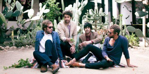 Les quatre membres du groupe de rock américain
