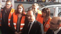 La visite ultra-millimétrée de François Hollande à