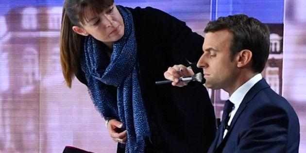 Emmanuel Macron lors du débat