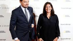 DiCaprio et Hidalgo ensemble sur le tapis