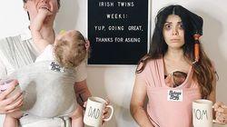 Elle raconte les aléas de la grossesse sur Instagram et fait rire les futurs